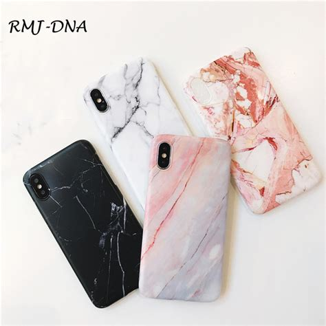 iphone  case marble simple tpu case  iphone    scrub marble silicone soft case