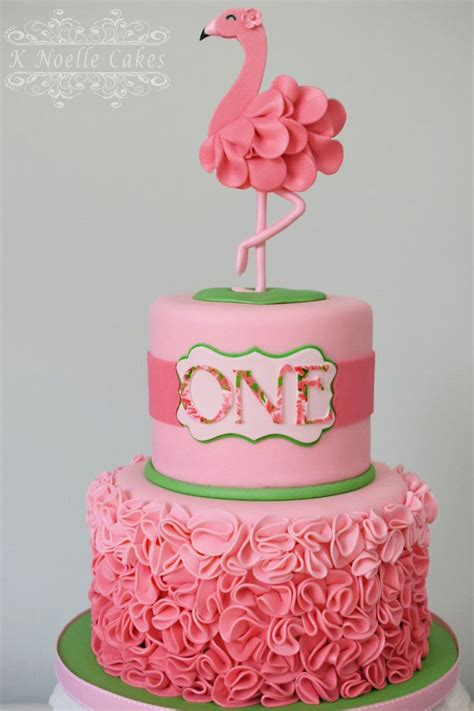 cake ideas flamingo theme cake by k noelle cakes cakes by k noelle