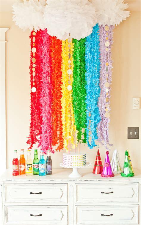rainbow theme decorations rainbow birthday ideas us