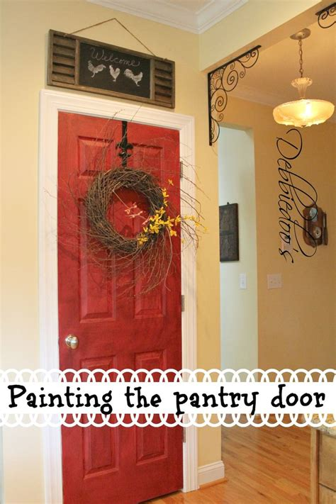 Painted Pantry Door Ideas by 25 Best Ideas About Painted Pantry Doors On Kitchen Paint Kitchen Paint Colors And