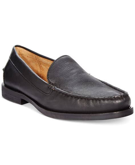 ralph loafers polo ralph kristofer loafers in black for lyst
