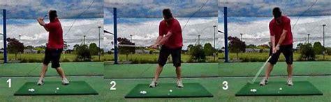 golf swing leg action downswing