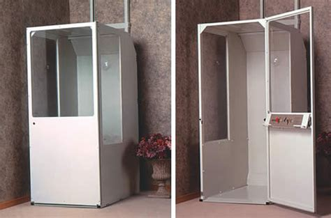 Small Elevators For The Home Minivator Residental Elevator