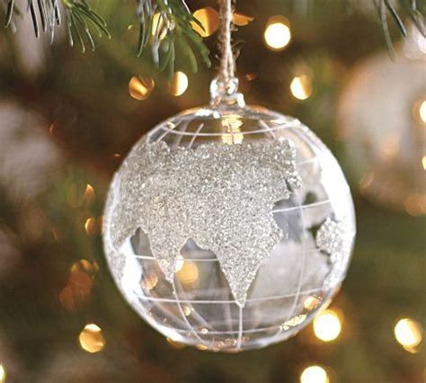 globe ornament christmas pinterest