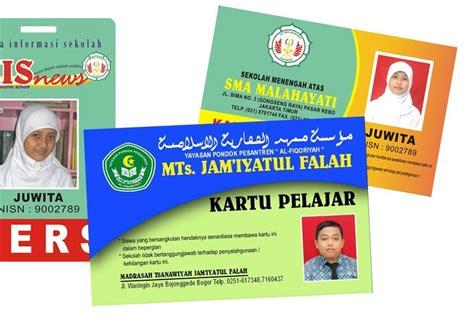 Pisau Multi Guna 11 In 1 Ukuran Kartu Kredit Masuk Ke Dalam Dompet template kartu pelajar id card sekolah tpku tempat praktek ketrilan usaha ma al hidayah