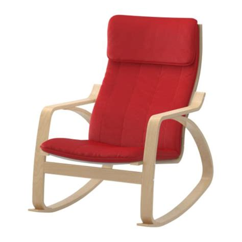 ikea sedie a dondolo po 196 ng sedia a dondolo alme mattone impiallacciatura di