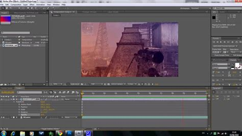 after effects cs4 tutorial gradient colour correction tutorial adobe after effects