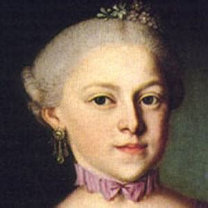 biography of nannerl mozart anna maria mozart bio facts family famous birthdays