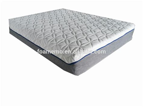 upholstery memory foam air flow fabric memory foam mattress with cool touch