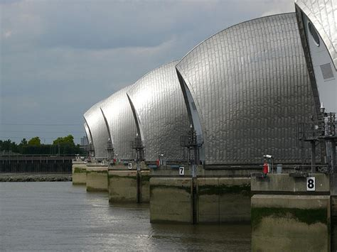thames barrier tunnel walking in london bridges on the thames