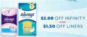 Always Infinity Coupons Always Coupon Save Up To 3 50 On Always Infinity