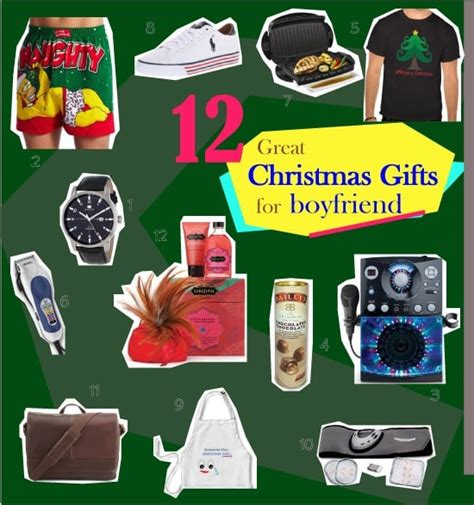 12 days of christmas gifts for boyfriend 12 gifts to get for boyfriend this s