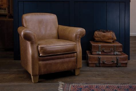 retro armchairs the vintage leather armchair by indigo furniture
