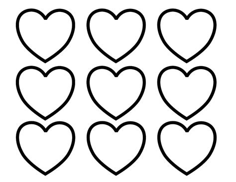 heart template coloring page heart template for kids clipart best