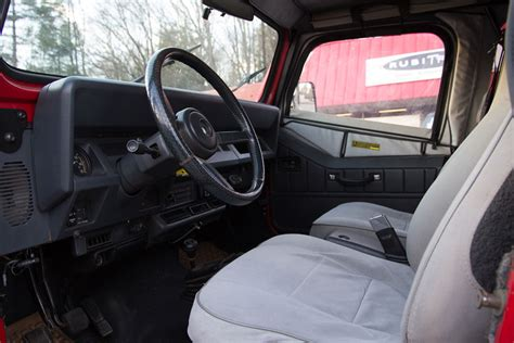 95 Jeep Interior by Vehicle Of The Week Jeep Wrangler Yj Renegade Go4x4it