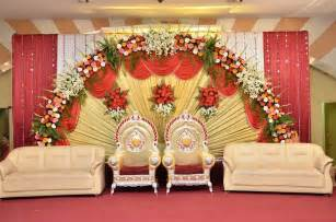 Sweetheart Table Size Simple Sweetheart Stage Decorations Wedding Stage
