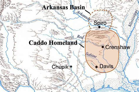 caddo texas map tejas gt caddo fundamentals gt caddo homeland