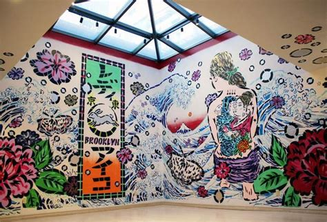 Wall Art Mural edo pop the graphic impact of japanese prints cool hunting