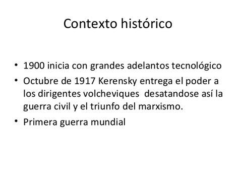 imagenes contexto historico contexto hist 243 rico entecedentes