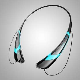 bluetooth headset two channel mp3 headphone hbs 760 black blue jakartanotebook