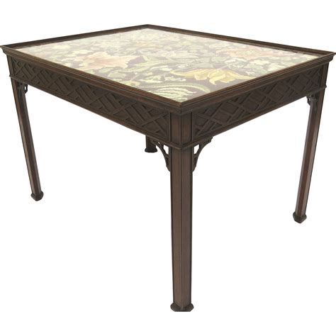 Chippendale Coffee Table Mahogany Chippendale Style Coffee Table From Blacktulip On Ruby