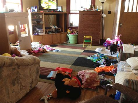 cluttered living room messy escapism a humor blog