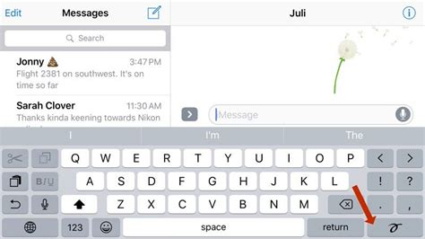 messages in ios 10 how to send handwritten notes macrumors