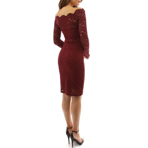 shoulder sleeve bodycon evening cocktail lace dress ebay
