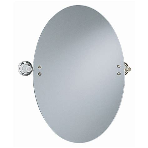heritage clifton oval swivel mirror chrome at