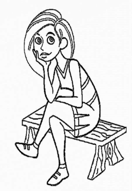 fun coloring pages kim possible coloring pages