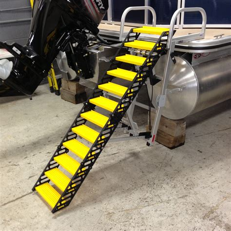 sea dog boat ladder wag boarding steps model slm 12 swim ladder mount on