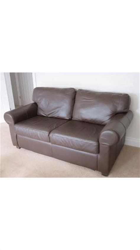 ikea brown leather sofa willenhall sandwell