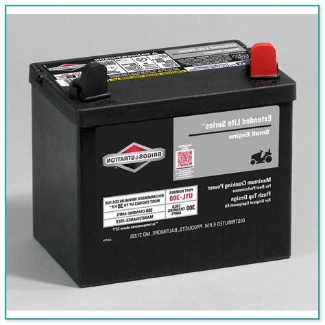 battery  briggs  stratton lawn mower home improvement