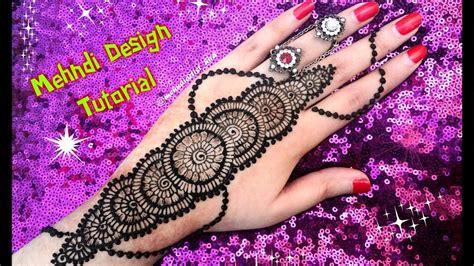 apply easy simple  latest henna mehndi designs  hands tutorial  eidmarriage