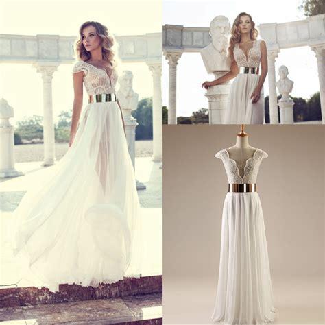 Dress Jersey Grade A Pecah 6 julie vino white dress gold belt dress uk