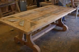 Wood Dining Room Table Building A Reclaimed Wood Table Top Woodworking Projects