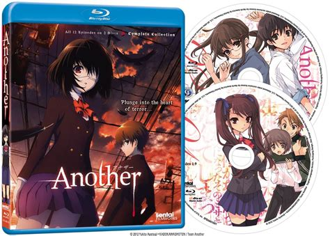 film anime another another complete collection ep 1 12 anime blu ray r1