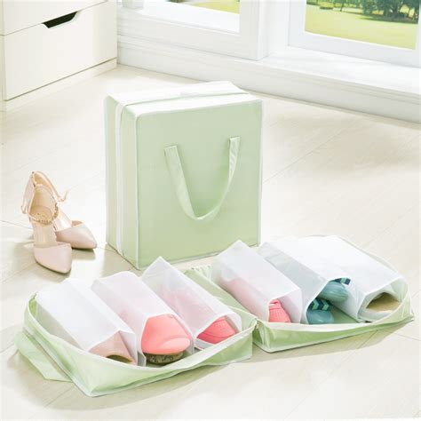shoe and bag storage aliexpress buy shoes storage bag and dust bag travel