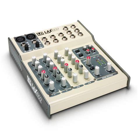 Audio Mixer Necxo Ld 1200m lax602 ld systems lax602 audiofanzine