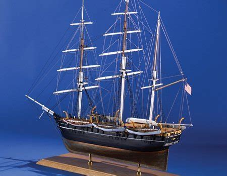 model shipways wood ship kit charles morgan whale bark 1