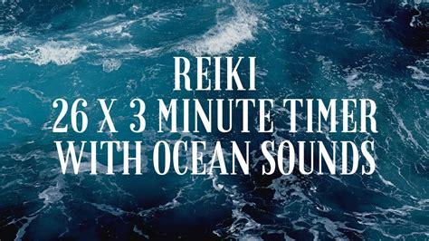 reiki bell   minute timer relaxing  ocean