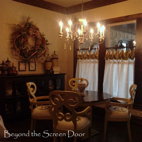 gallery cafe curtains sill length panels beyond the