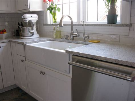 best material for farmhouse kitchen sink kohler top mount apron front sink kohler hawthorne