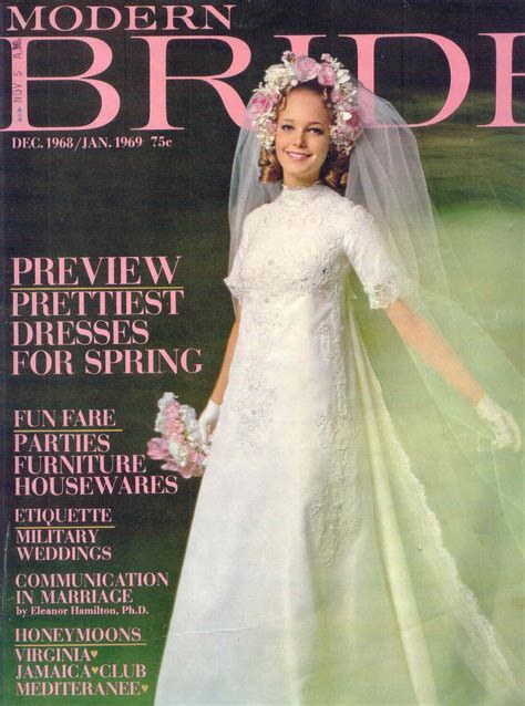 December 1968/January 1969, Modern Bride magazine