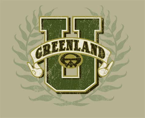 Home Design Florida Logos Greenland University Logo By Greg Dampier