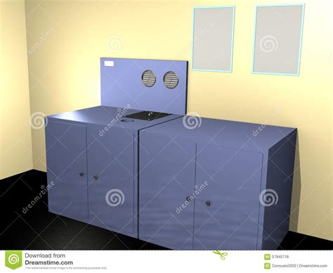 Technical Room by Technical Room 3d Stock Illustration Image 57945718