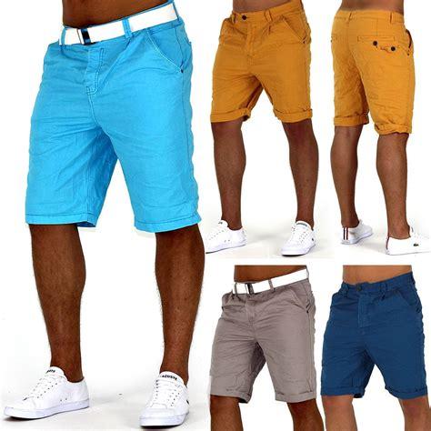 Croope Hodie herren chino icecold bermuda cargo shorts
