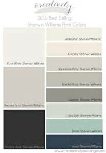 2015 best selling and most popular sherwin williams and benjamin moore
