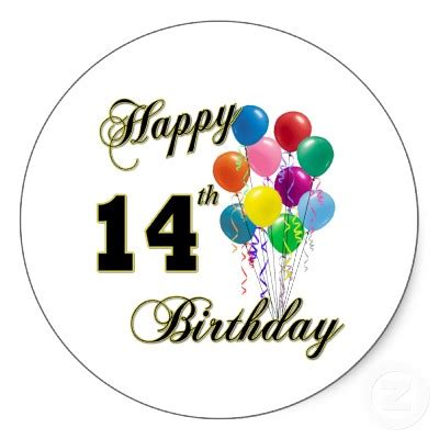 Birthday Quotes For 14 Year Happy 14th Birthday Son Quotes Quotesgram
