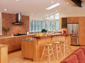 Multilevel kitchen island with bar seating crown point cabinetry